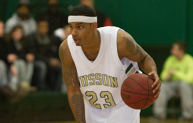 Husson Men Pull Down 50 Boards; Defeat Johnson State 90-58