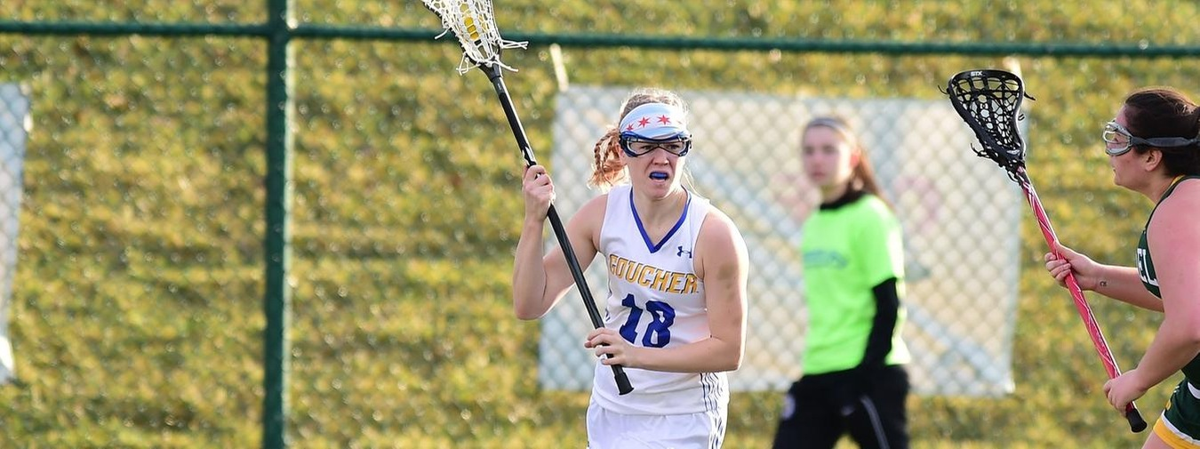 Goucher Women's Lacrosse Explodes For 24 Goals In Win At Cedar Crest