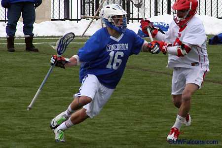Men's Lacrosse travels to Adrian for Sunday showdown