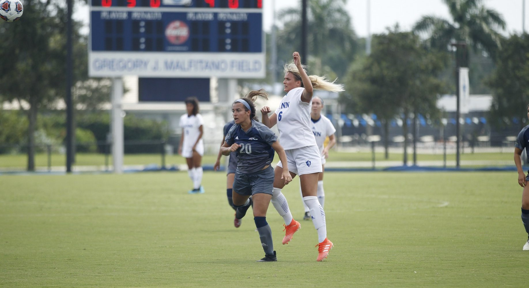 Nilsson's Hat Trick Leads Women's Soccer to First Win
