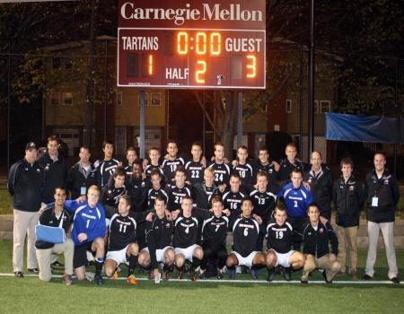 No. 5 Men's Soccer advances to Third Round of NCAA III Tournament with 3-1 win over No. 6 Carnegie Mellon (Pa.)