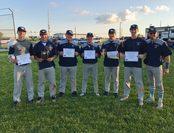 Huesgen Wins Newcomer of the Year, Six Blue Jays Earn All-Conference