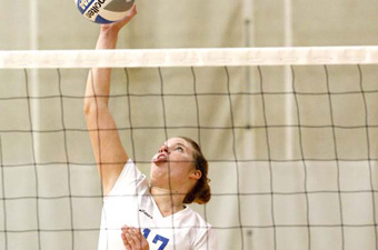 Volleyball earns second seed in 2009 ECAC tournament