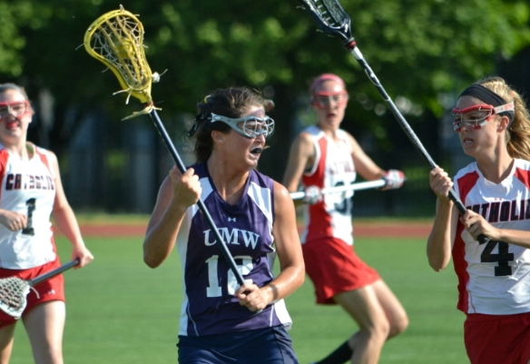 #20 UMW Women's Lax Falls at #9 Catholic, 18-10, in NCAA Tourney 1st Round