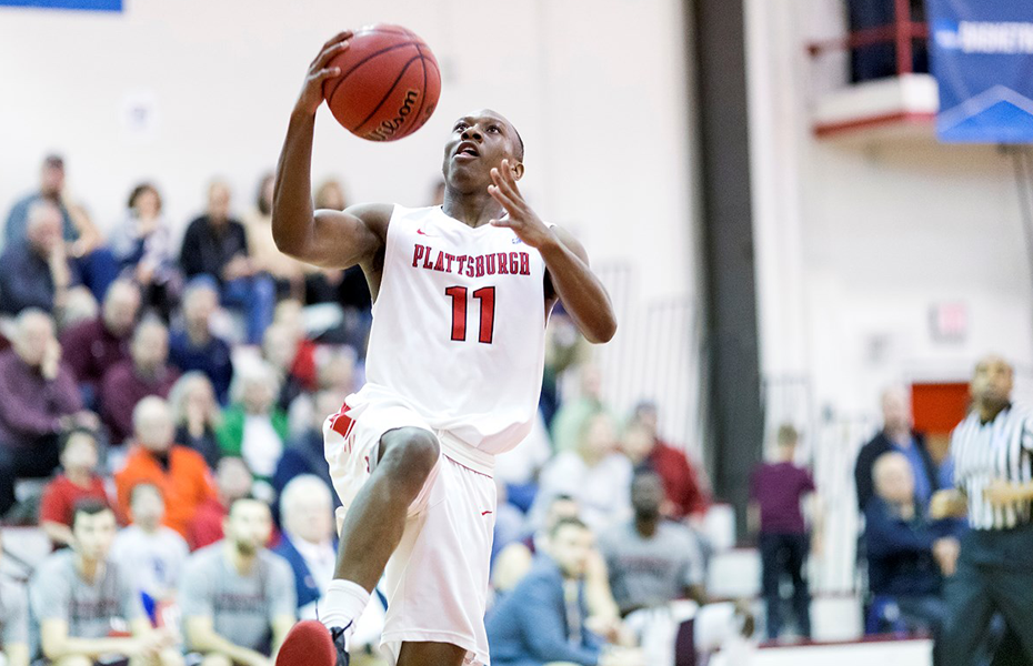 Plattsburgh's Johnson honored as Men's Basketball Athlete of the Week