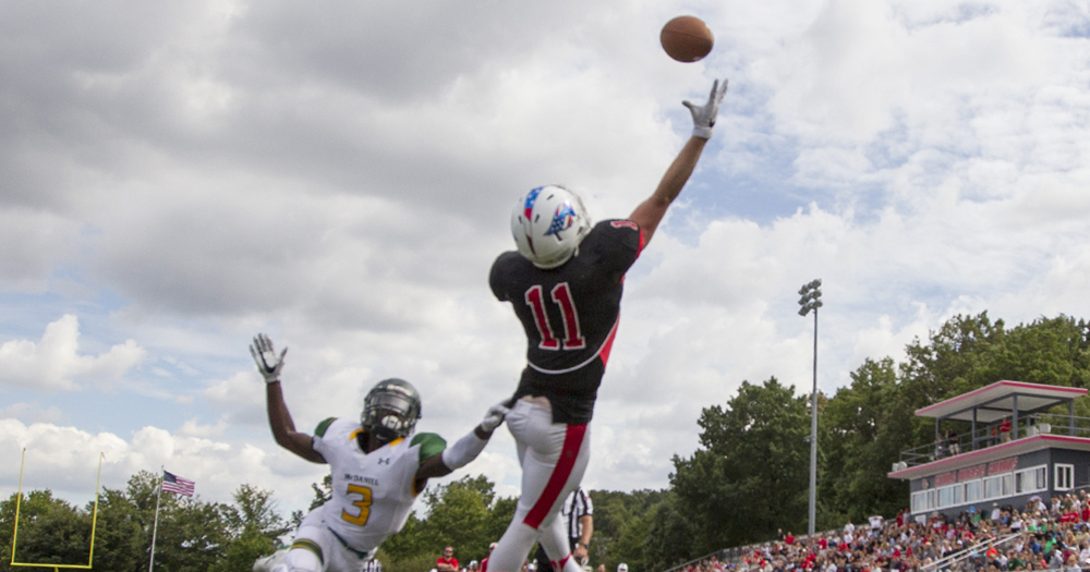 In Final ODAC Season, Morley Leads League In TD Catches