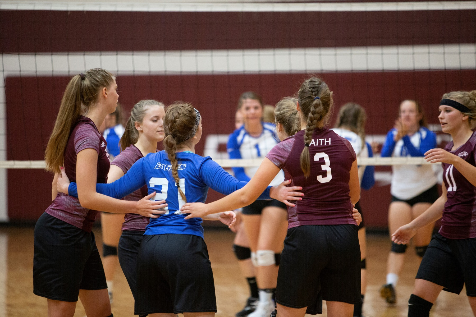 Eagles Volleyball Earns a Big Road Win at Union College