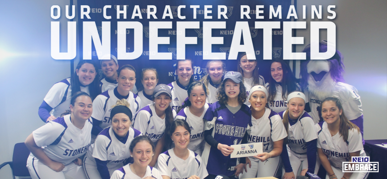 Embrace The Impact: Stonehill Softball Drafts Ari Gallagher from Team IMPACT