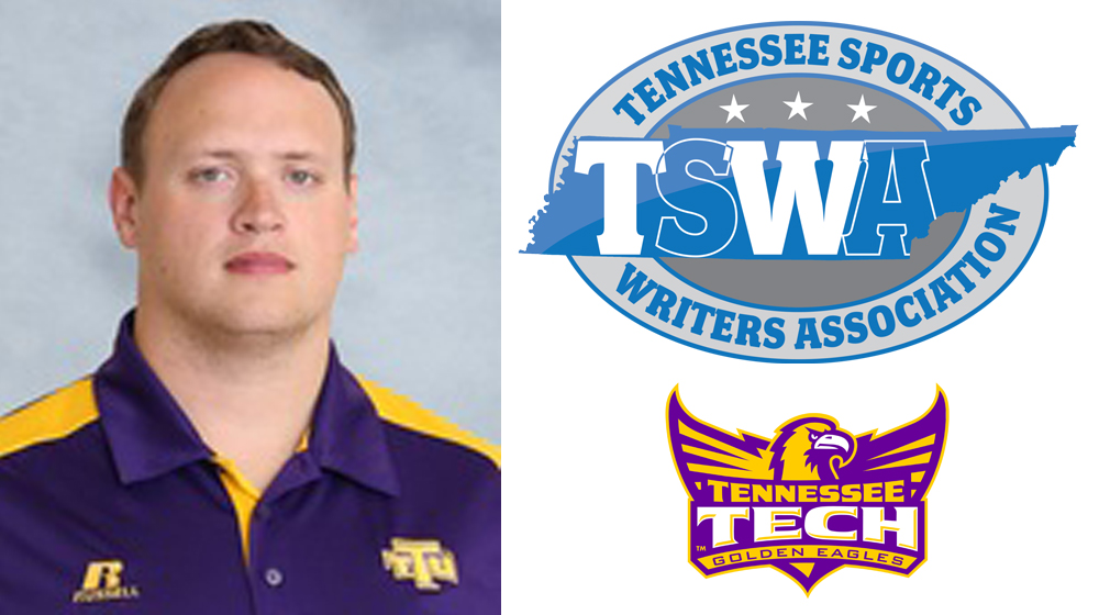 Tech Sports Information, Corhern honored by Tennessee Sports Writers Association