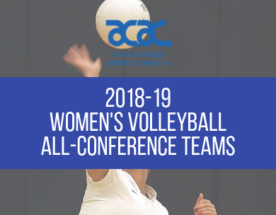 Presenting the 2018-19 ACAC Women's Volleyball All-Conference Teams