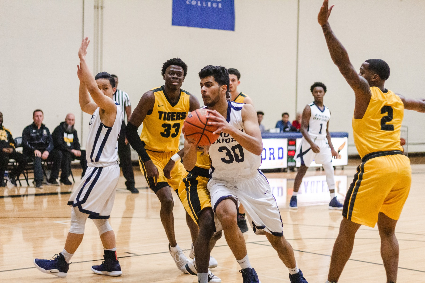 Emory Oxford Men's Basketball Loses To West Georgia In Overtime