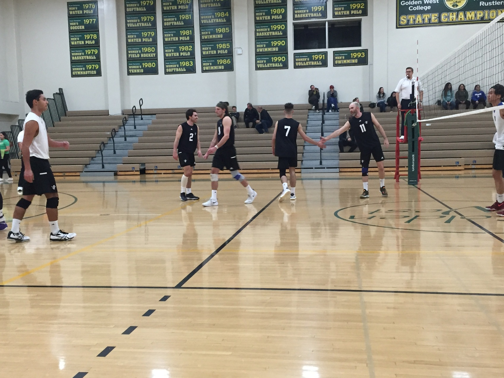 M Volleyball: Pank and Ludlum Lead Rustlers to 5 Set Victory