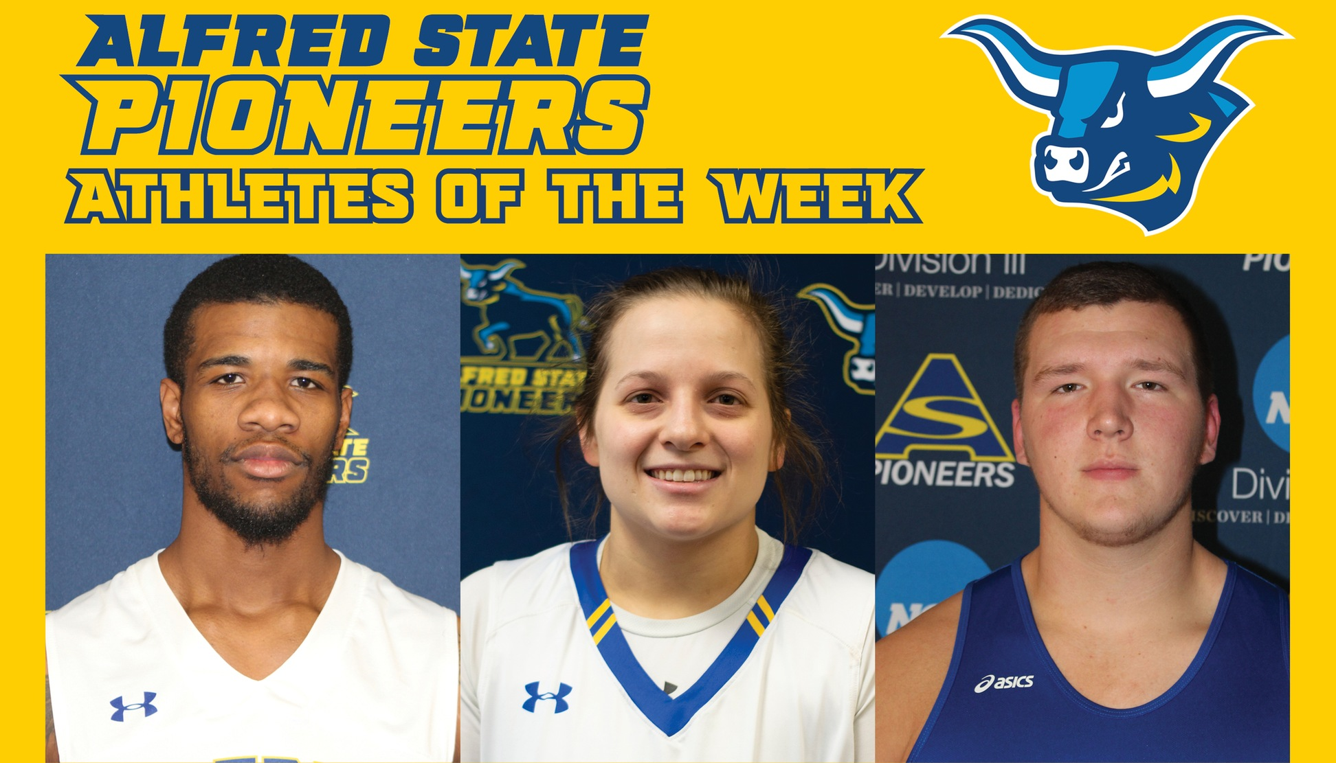 Taj Lewis, Ray Anderson, and Paul Kemsley Named Athletes of the Week.