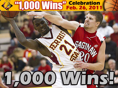 "Ferris Basketball To Celebrate ""1,000"" Wins"