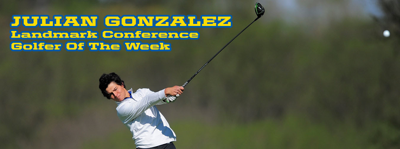 Gonzalez Starts New Year With Fifth Landmark Conference Golfer Of The Week Honor