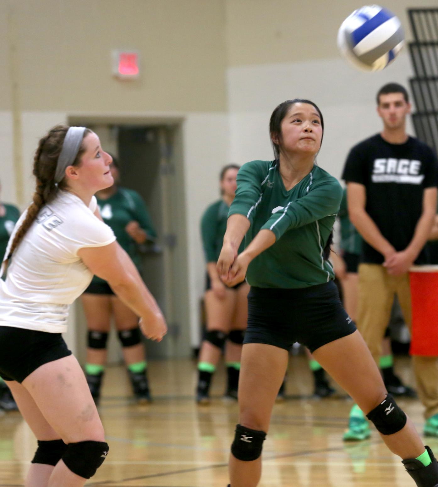 Gators post two key Skyline wins on Sunday in volleyball play