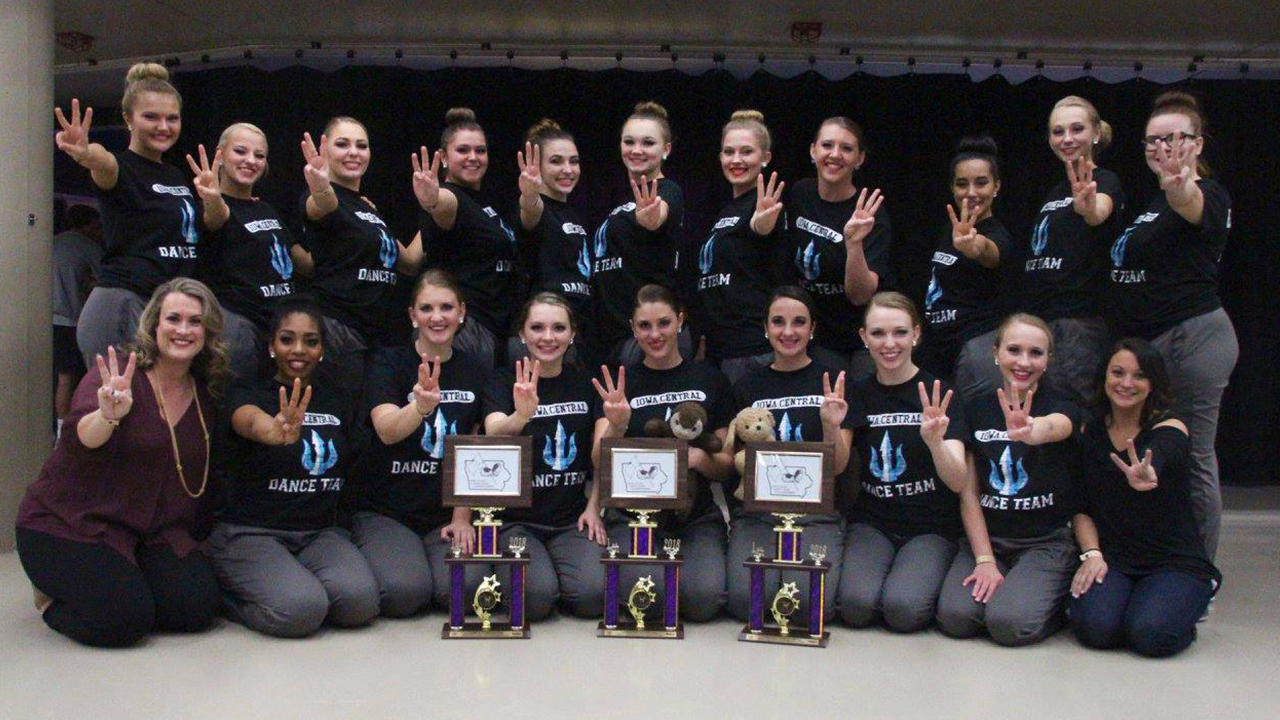 Iowa Central Dance Team sweeps all three dance categories at ISDTA State Championships
