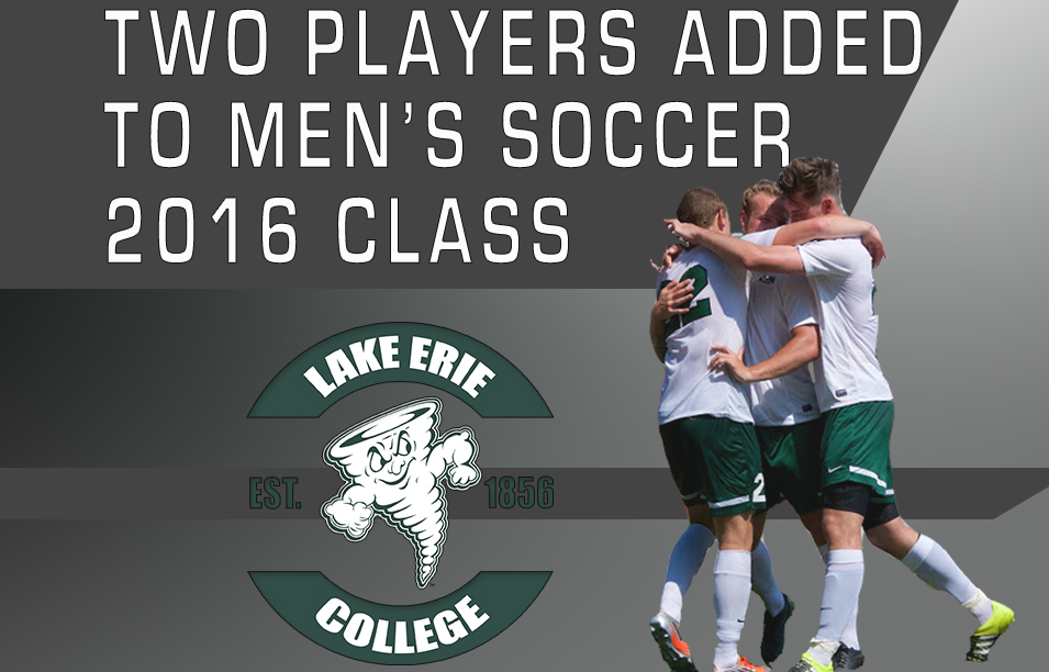 Men's Soccer Adds Two to 2016 Recruiting Class