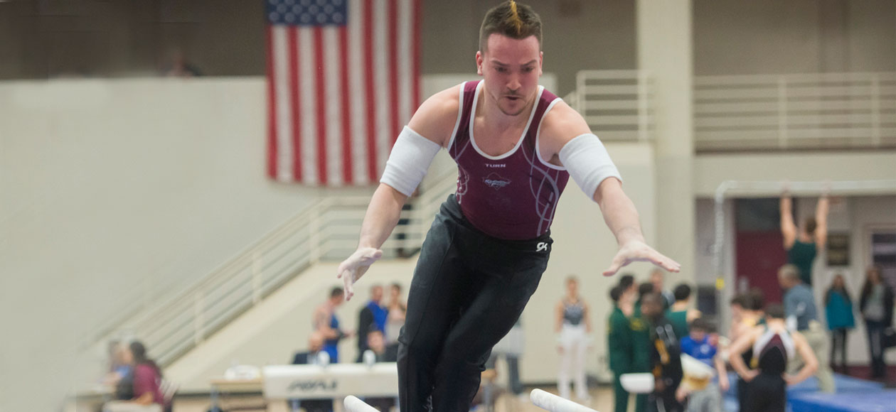Men's Gymnastics Entertains Penn State In Home Opener