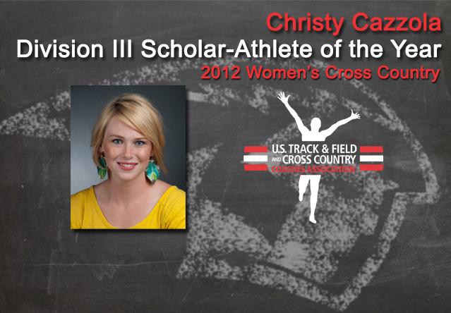 Cazzola Named Division III Scholar-Athlete Of The Year