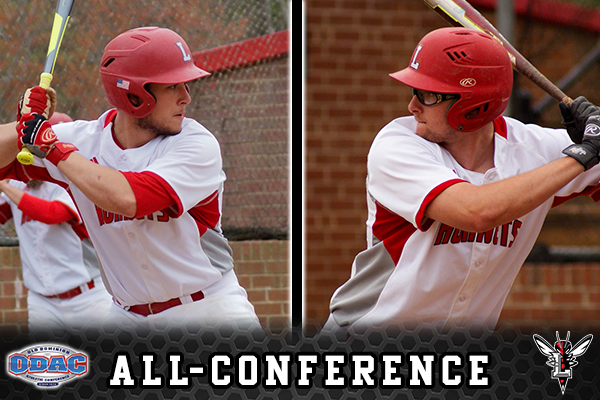 Baseball's Hylton and Rodgers Honored with All-Conference