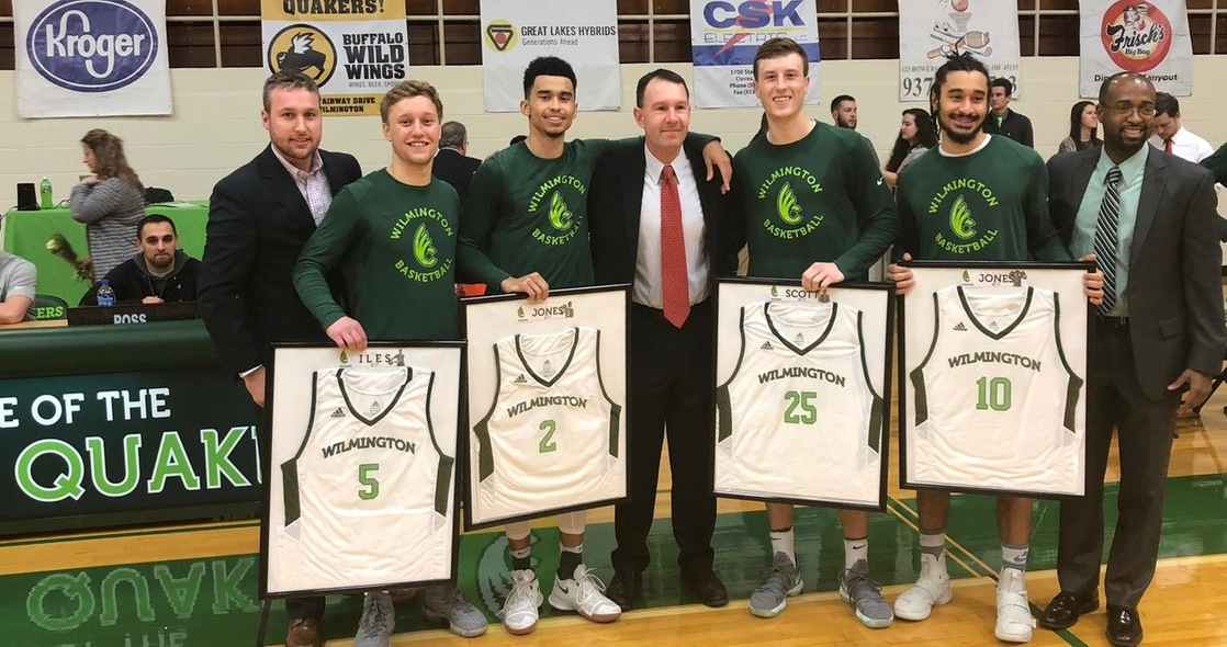 Seniors Lift Men's Basketball to 87-68 Win Over Capital