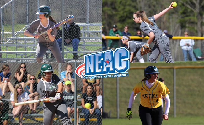 Keuka College Softball Shines in NEAC Awards