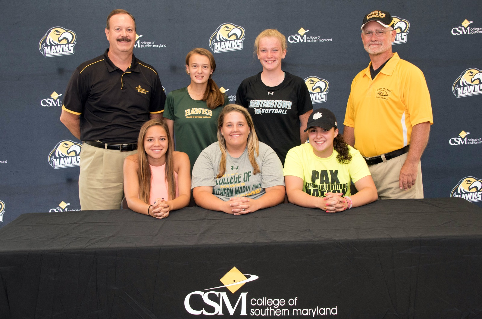 CSM Signs Five to Women's Softball Team for 2018 Season