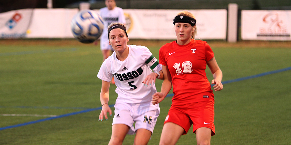 Women's Soccer and Pilgrims Play to a 2-2 Draw