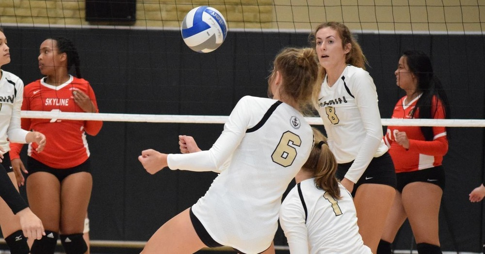College of Marin Volleyball Mauled by Sierra College Wolverines 3-0