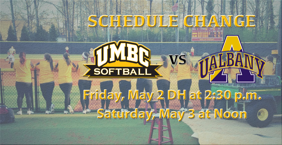 Softball Closes Out the Regular-Season Hosting Albany; Schedule Update