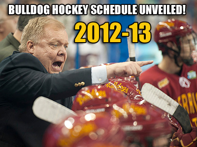 Bulldog Hockey Schedule Set For 2012-13