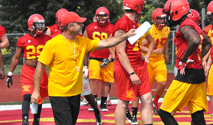 Fall Camp Officially Underway As Ferris State Football Holds First Practice