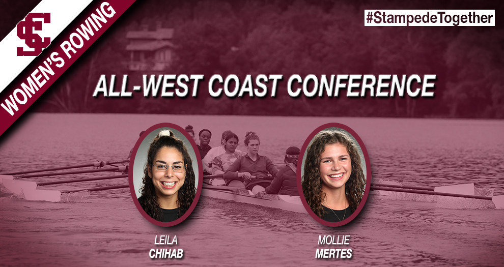 Women's Rowing Has Two Named All-Conference After WCC Championships