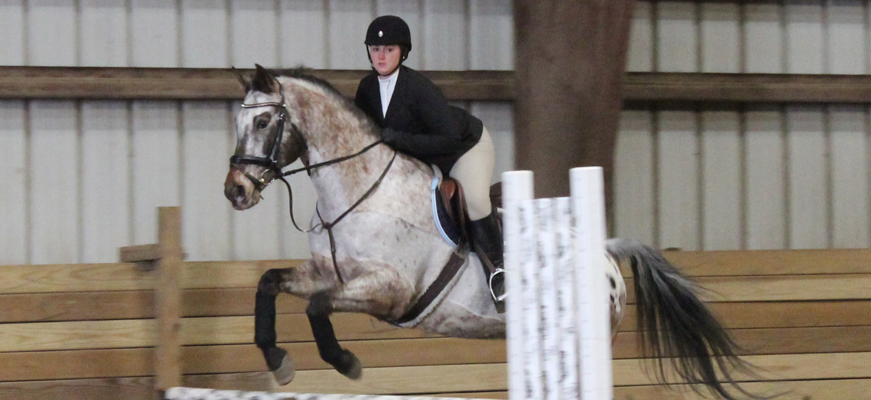 Equestrian Places Fifth at RWU Show