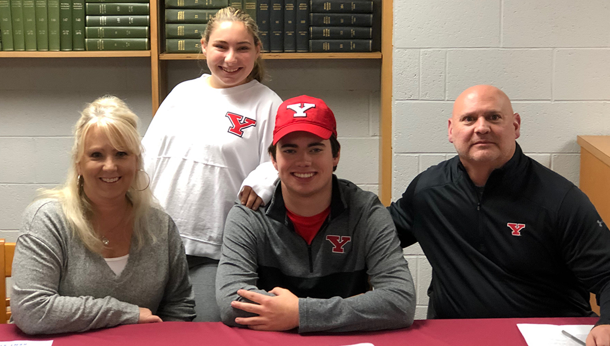 Cole Christman will join YSU Men's Golf in the fall of 2019