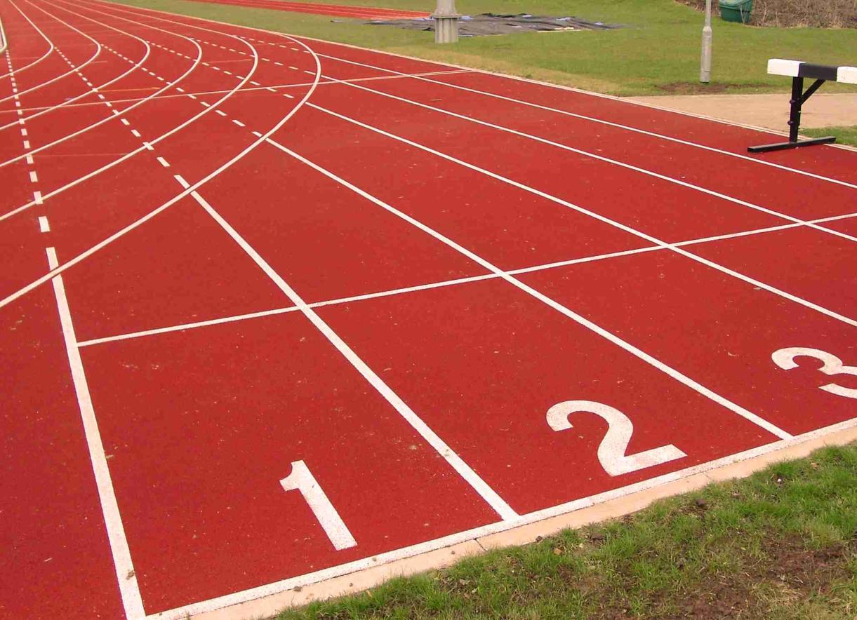 Track & Field Records Solid Performances at Kansas Relays ... Happy High School Student Clipart