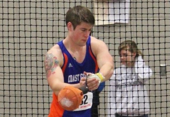 Men's Track and Field 7th at AIC Invitational