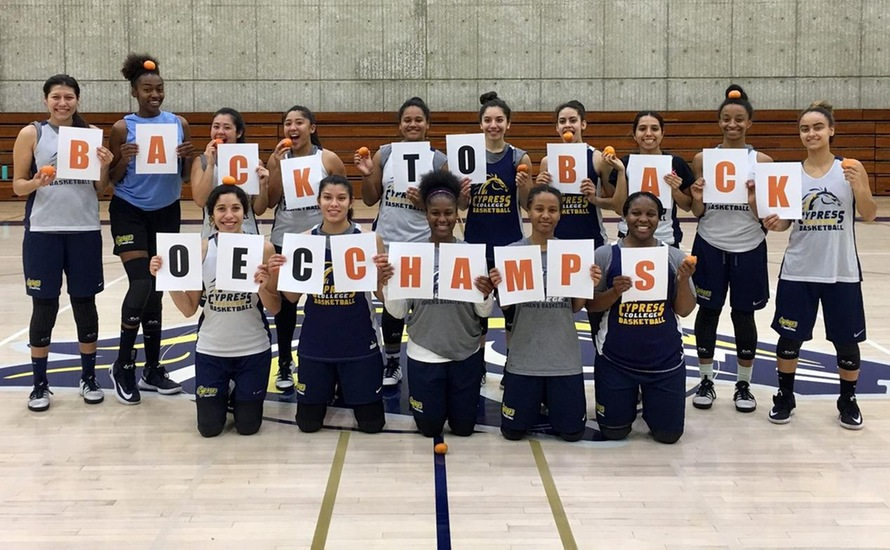 Lady Chargers Capture Back-To-Back OEC Championships