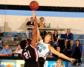 JHU tips it up with Muhlenberg