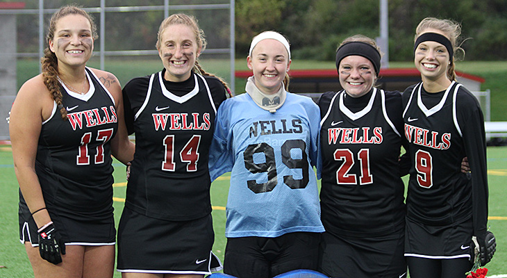 Seniors Honored In Field Hockey Game Against Keuka