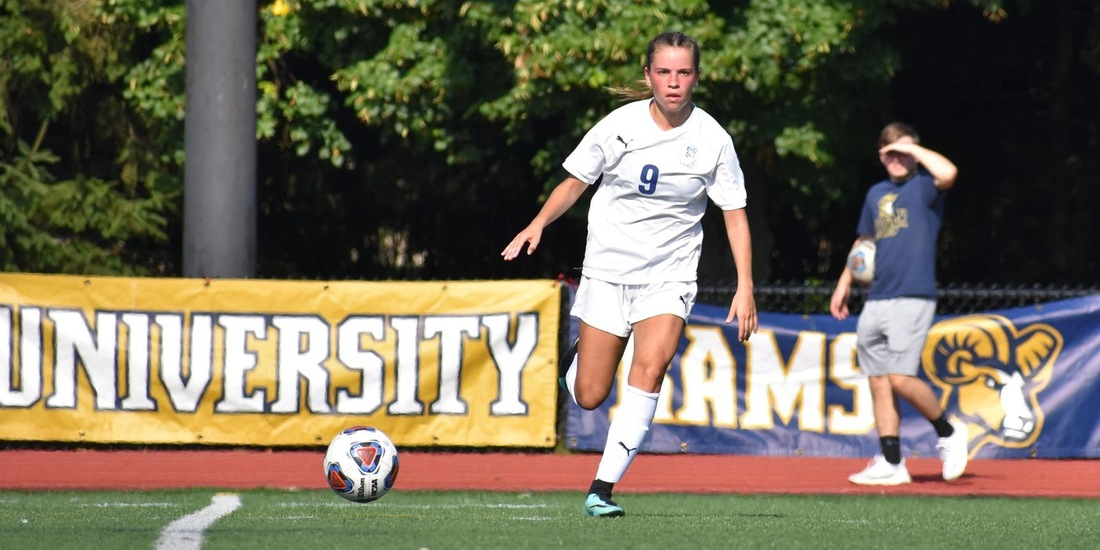 Women's Soccer Concludes Road Swing at Simmons Wednesday