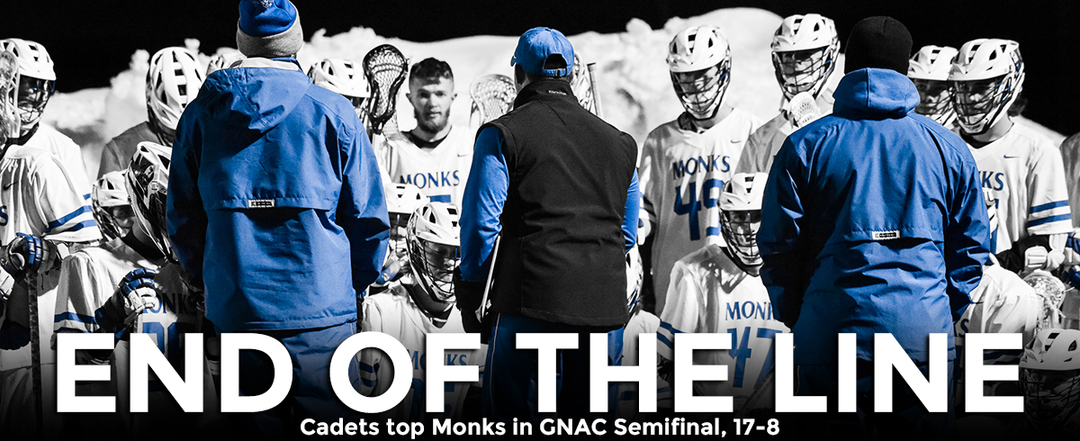 Monks Fall in GNAC Semifinal, 17-8