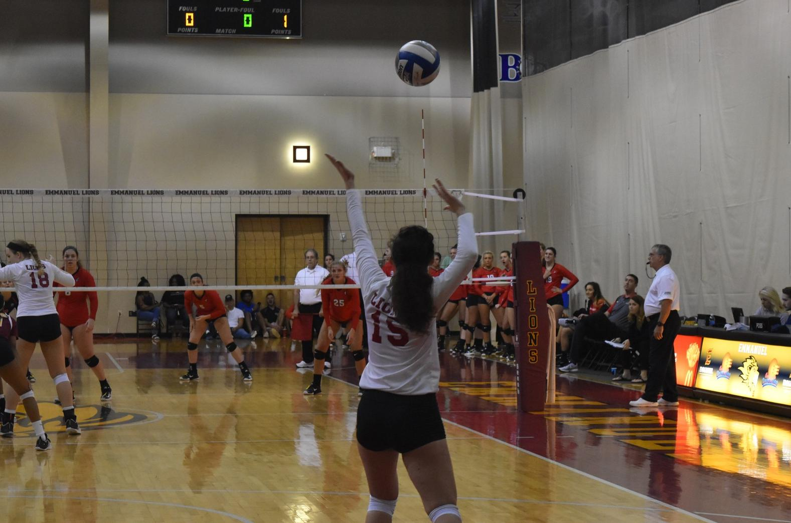 Women's Volleyball Falls to Southern Wesleyan