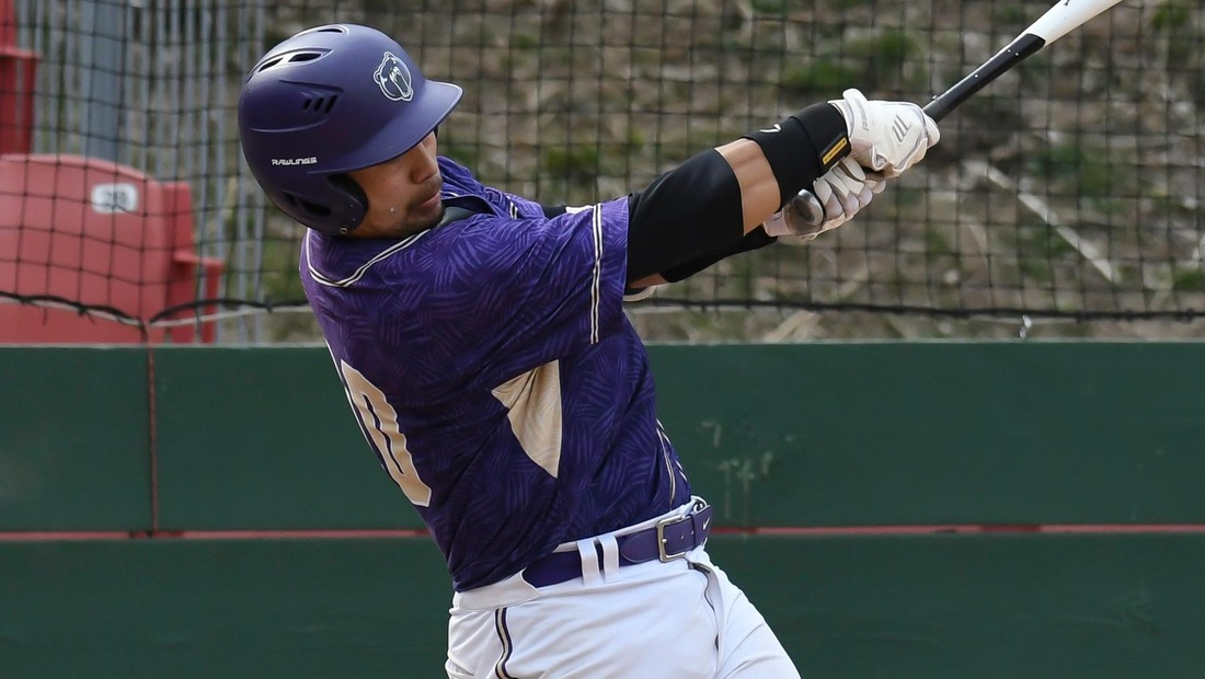Travis Tanaka recorded a 4-for-5 day with three RBI to lead BU to a 13-7 win over Peru State on Tuesday.
