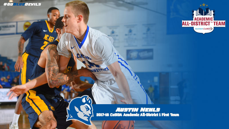 Nehls Named to CoSIDA Academic All-District 1 First Team