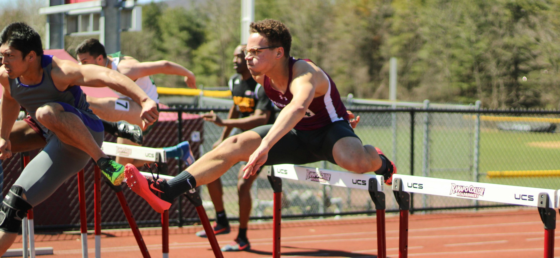 Men's Track and Field Takes Third Overall at Ramapo Invitational