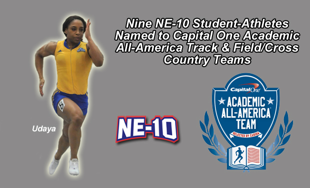 Nine NE-10 Student-Athletes Named to Capital One Academic All-America Track & Field/Cross Country Teams