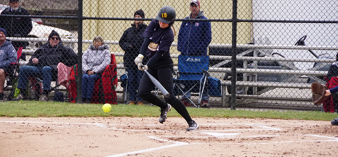 Hillsdale Takes Two From Softball