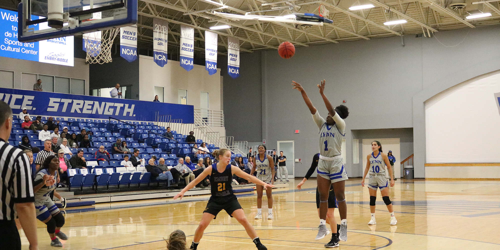 Women's Basketball Comes Up Just Short at Home vs. Embry-Riddle